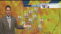 Tuesday's Forecast: Sunny skies, hot