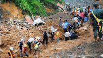Around the World: Torrential rains trigger deadly landslide