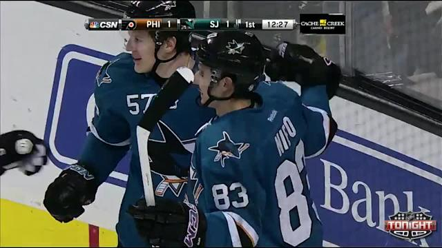Philadelphia Flyers at San Jose Sharks - 02/03/2014