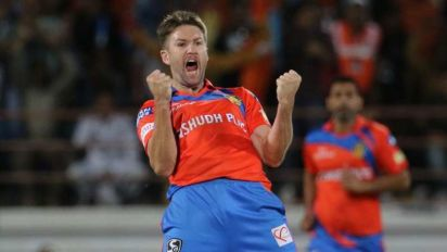 IPL 2017: Gujarat Lions' Andrew Tye ruled out of the tournament with dislocated shoulder