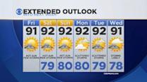 CBSMiami.com Weather 7/25/2014 Friday 9AM