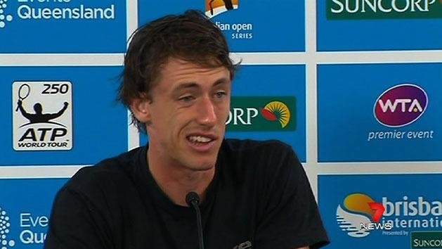 Aussie makes Murray work for win