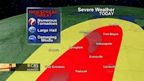 Storm system threatens swath of U.S.