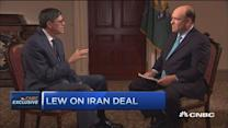 Jack Lew: Don't jump gun on doing biz with Iran
