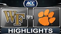 Wake Forest vs Clemson | 2013 ACC Football Highlights