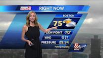 Danielle's Monday afternoon forecast
