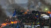 Ukraine protests: White House weighs sanctions to end bloodshed