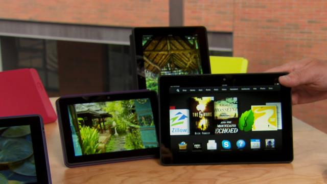 Amazon's Bezos talks new tablets and WaPo purchase