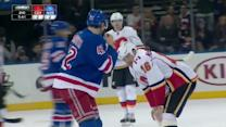 Brian McGrattan and Dylan McIlrath scrap