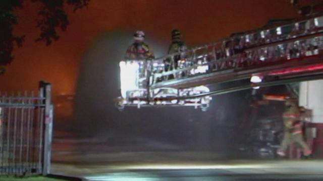 3-alarm storage facility fire burns in Atascocita