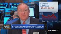 Cashin: Sellers close out January