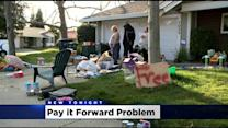 City Tells Group Trying To Pay It Forward That Front Yard Giveaway Falls Under Garage Sale Ordinance
