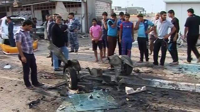 Iraq blasts injure at least 20