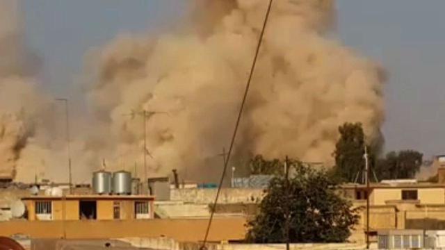 Militants Blow Up Iraq's Shrine of Yunus Mosque