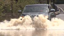Heavy Rain Brings Flooding to New Jersey