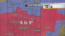 Winter storm poised to slam Indiana