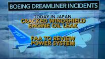Boeing's Dreamliner suffers oil leak, more cracks