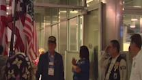 Kern County veterans return home on honor flight from Washington, D.C.