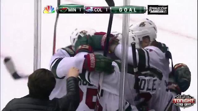 Minnesota Wild at Colorado Avalanche - 04/17/2014