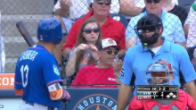 Asdrubal Cabrera gets ejected while running to first base