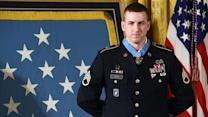 AFGHANISTAN VETERAN RECEIVES MEDAL OF HONOR