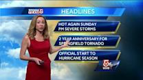 Danielle's Saturday evening Boston-area forecast