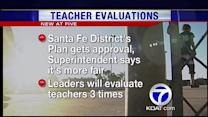 Santa Fe's new teacher evaluation plan approved