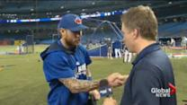 The Toronto Blue Jays continue to impress with their play on the field and their celebratory handshakes.