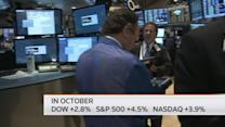 Solid October ends with a dip