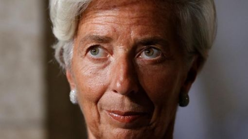 IMF chief sees lower U.S. growth, calls trade barriers 'malpractice'