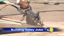 Valley construction driving economic recovery