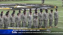 San Diego hero scores big at Army bowl game