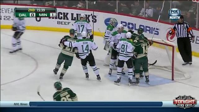 Dallas Stars at Minnesota Wild - 01/18/2014
