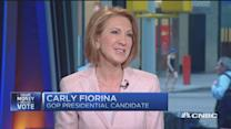 Huge gulf between people and government: Carly Fiorina