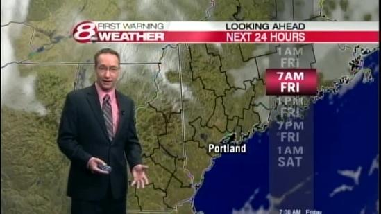Paul's Thanksgiving Night Forecast