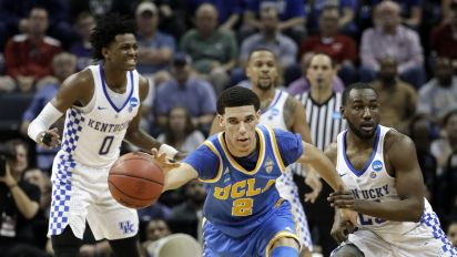 Lonzo Ball makes his case as top NBA pick