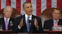 Memorable moments of president's State of the Union