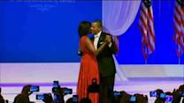 President & Mrs. Obama celebrate at Inaugural Ball