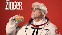 As KFC promises to launch sandwich into space, Rob Lowe stars as the new Colonel Sanders