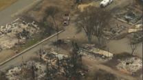 Power to Be Restored After Wash. Wildfire