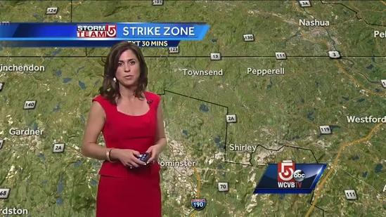 10 a.m. Update: Cindy is tracking strong storms