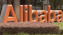 Alibaba growth surges ahead of IPO; Stocks flat