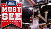 UVA's Justin Anderson Throws Down Dunk After Turnover | ACC Must See Moment