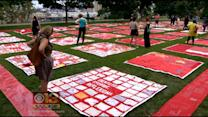 Quilt Shares The Stories Of Survivors Of Sexual Assault