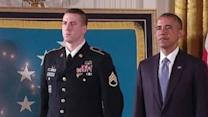 President Obama Awards Medal of Honor to Afghan Veteran
