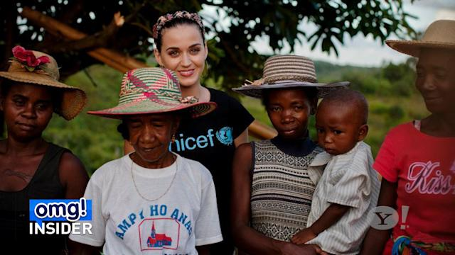 Katy Perry Looking Good and Doing Good in Madagascar