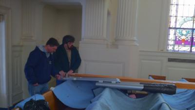RAW VIDEO: Pipes For Church Organ Delivered