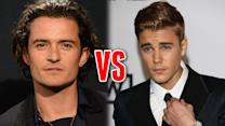 Justin Bieber & Orlando Bloom Fight Over Miranda Kerr