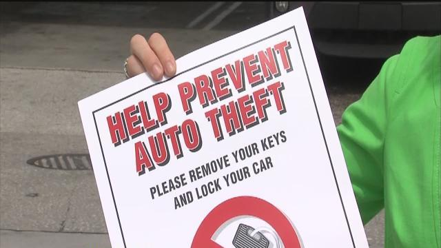 St. Pete Police fining those who leave keys in car