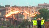 Bridge Implosion Reax